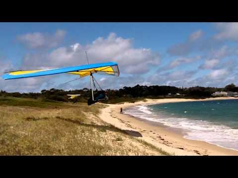 Hang Gliding - Dune Gooning at the Boneyard 2011- Australia