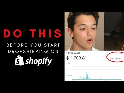DO THIS Before You Start Dropshipping On Shopify!