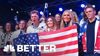 We Tried Working Out With U.S. Olympians | Better | NBC News