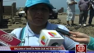 Serenazgo Víctor Larco Recupera  TAXI RECUPERADOAmerica Tv