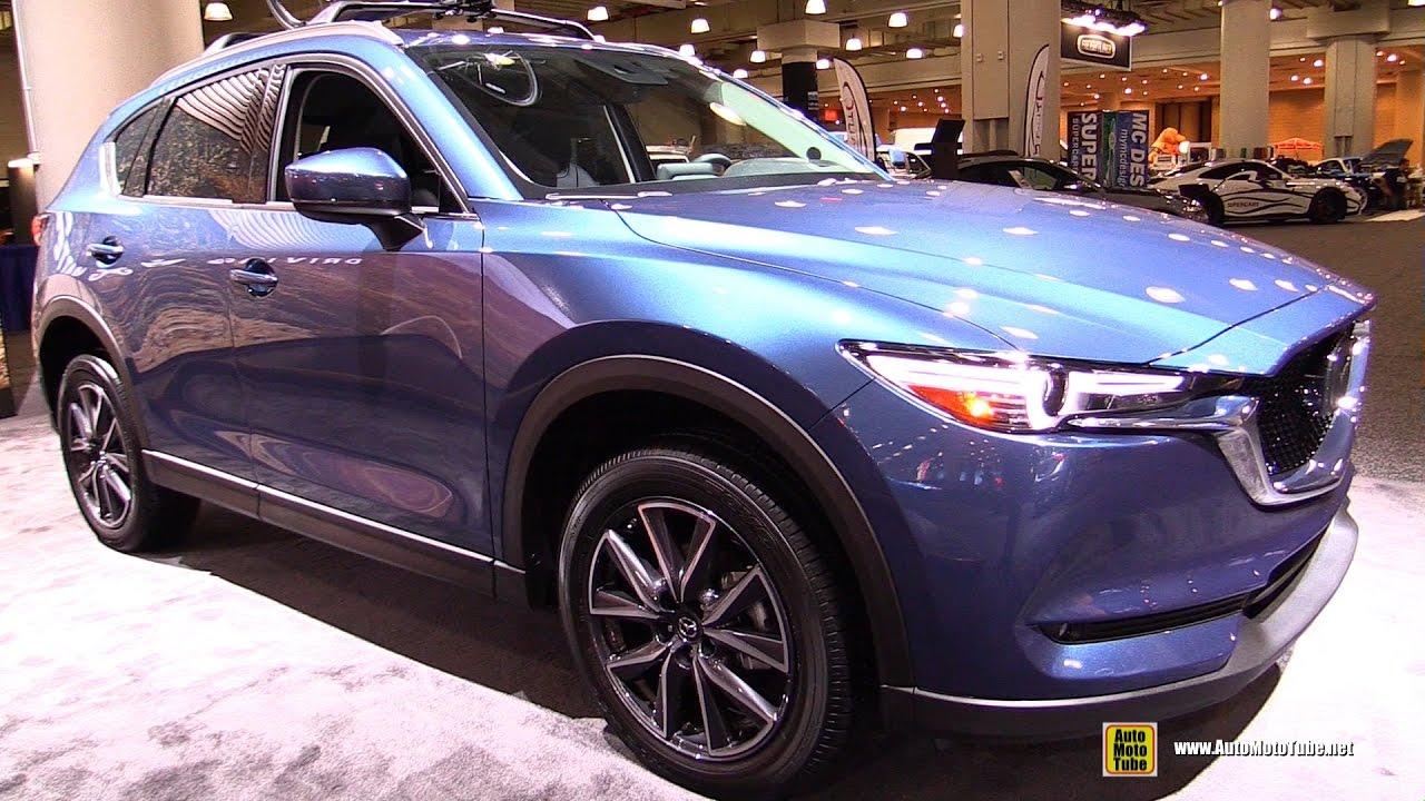 2017 Mazda Cx5 Grand Touring Awd Exterior And Interior Walkaround Ny Auto Show