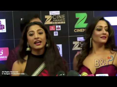 Raima Sen Showing Hot Assets at The Red Carpet of Zee Cine Award