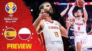 Spain v poland preview   best plays of each team so far fiba basketball world cup 2019
