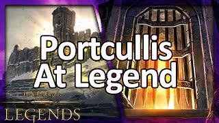 (TES: Legends) High Health Scout - Portcullis at Legend!