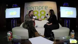 Mijares en entrevista con Sofía Sánchez para Siempre 88 9 parte 3
