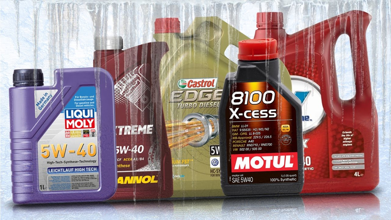 Olej 5w40 test zimna 30 c x cess 5w40 liqui moly 5w40 for Valvoline motor oil test