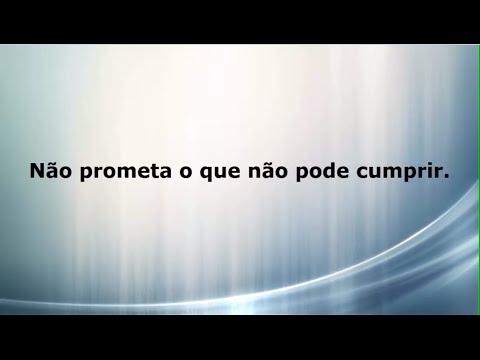 Provérbios Não Prometa O Que Não Pode Cumprir Vídeo 04 Youtube