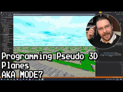 Programming Pseudo 3D Planes aka MODE7 (C++)