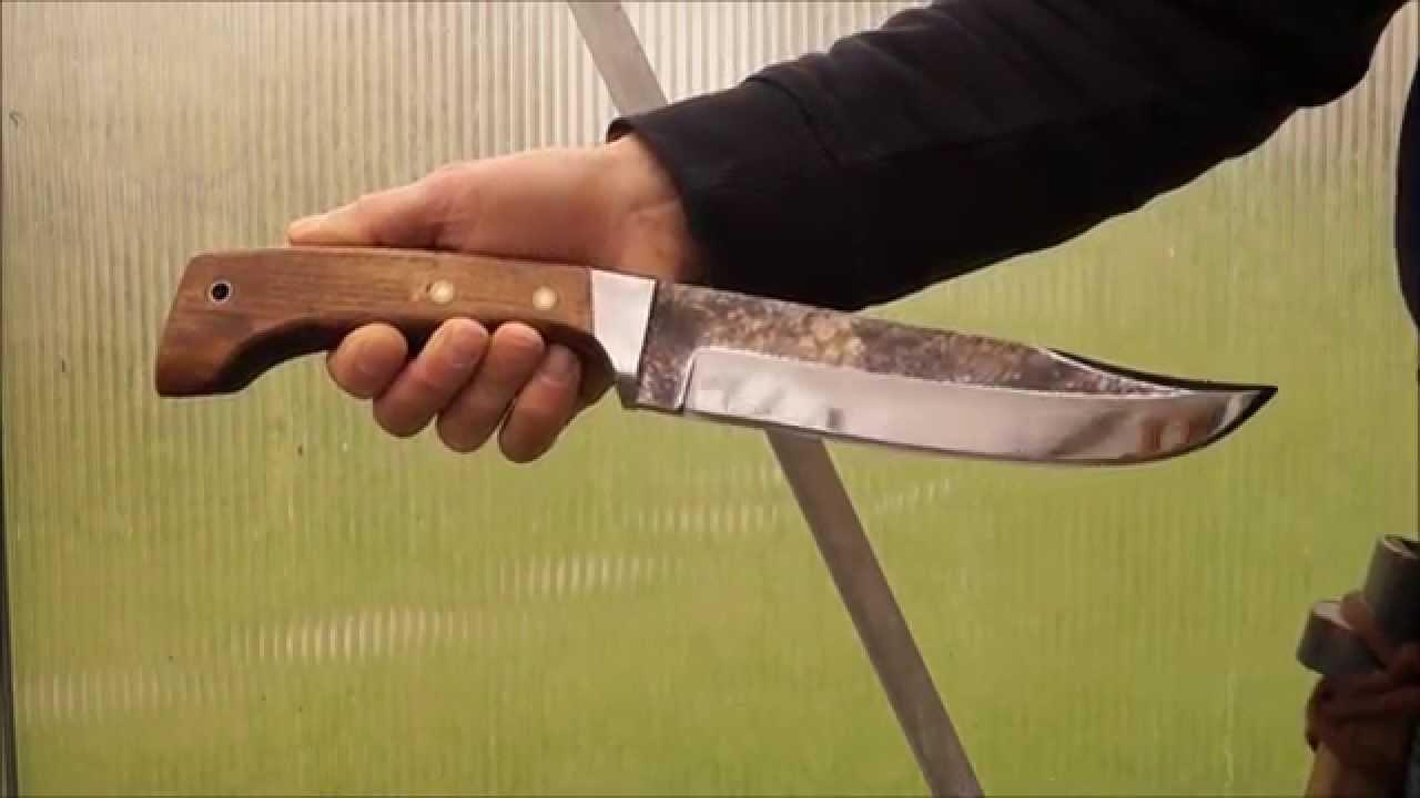 landsknechtmesser herbertz solingen bowie style knife middle ages soldier reenactment larp youtube. Black Bedroom Furniture Sets. Home Design Ideas