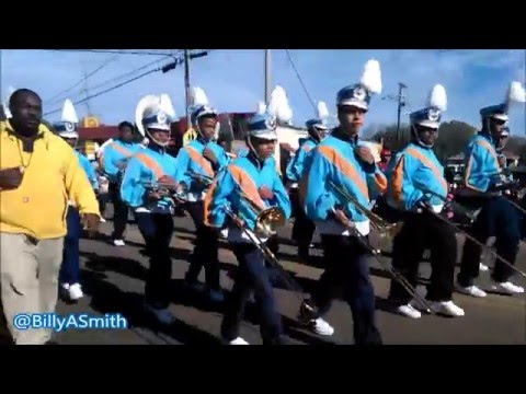 Siwell Middle School Marching Band - 2016 Martin Luther King Parade (Kenneth Stokes)
