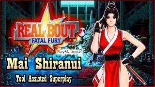 【TAS】REAL BOUT FATAL FURY (PS2) - MAI SHIRANUI (RECOLOR)