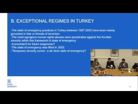 Emre Turkut, Accommodating Security Imperatives V. Protecting Fundamental Rights