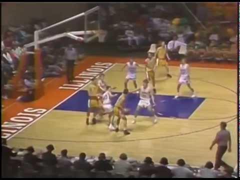 1992 IHSA Boys Basketball Class A Semifinal Game: Normal (University) Vs. Augusta (Southeastern)