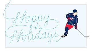 Happy Holidays from the Blue Jackets