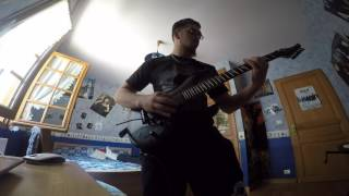 Gambar cover Fleshgod Apocalypse - The Betrayal Solo Ending + The Forsaking - Guitar Cover