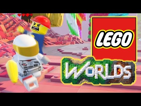 LEGO WORLDS! New tools and angry workers.