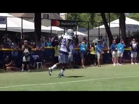 Dez Bryant One Handed Catch In Dallas Cowboys Practice