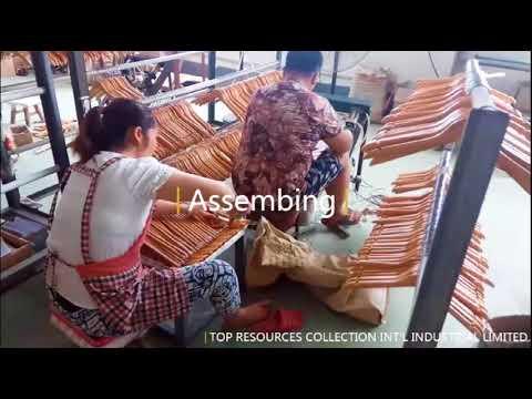 Best High Quality Wonderful Custom Wooden Craft Coat Hanger Manufacturer