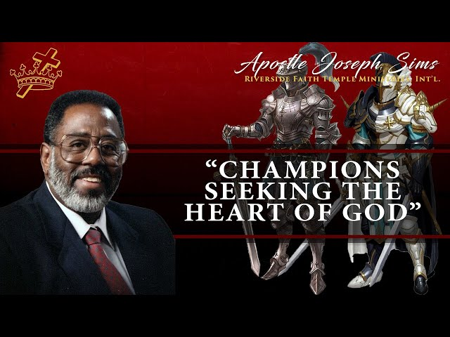 Audio Sermon - Champions Seeking The Heart Of God: Psalm 27:4; 35:13; 69:9-10; 78:72