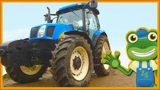 Tractors For Kids | Gecko