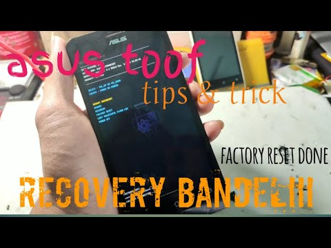 Mengatasi Asus ZENFONE GO tidak bisa masuk recovery /droidboot    Debrick Asus.