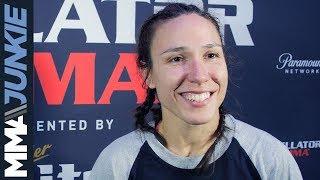 Bellator 212: Juliana Velasquez post-fight interview