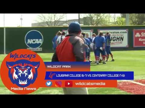 Louisiana College Softball vs Centenary Highlights
