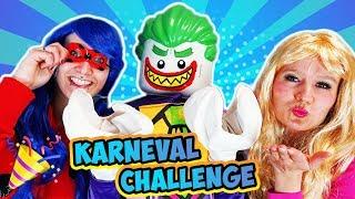 KARNEVAL CHALLENGE - Nina VS Kaan VS Kathi - Wer hat das coolste FASCHINGSKOSTÜM als Verkleidung?