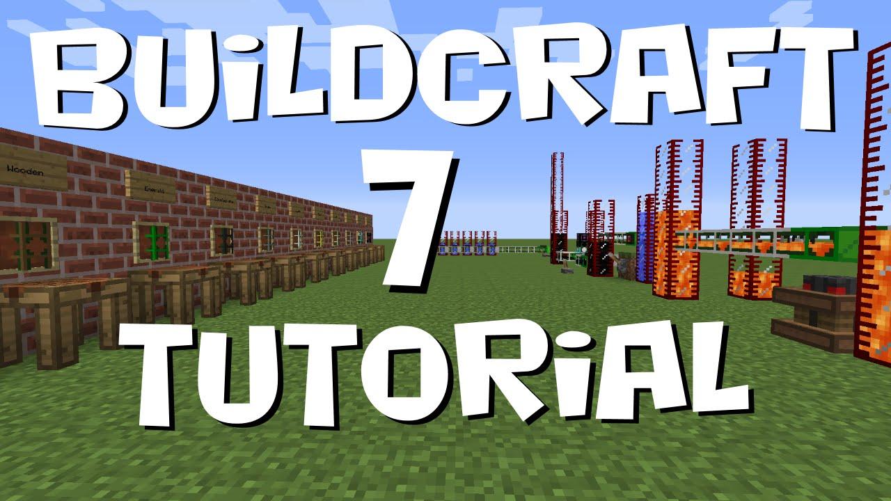 BuildCraft 7 Tutorial #4 - Fluid Pipes (MC 1 7 10)