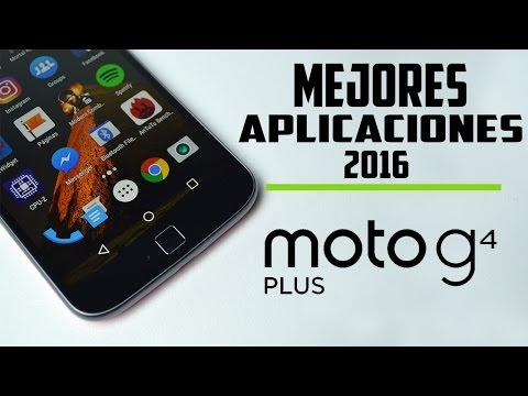Moto g4 Plus |Top de aplicaciones Android 2016| #3 | NO ROOT