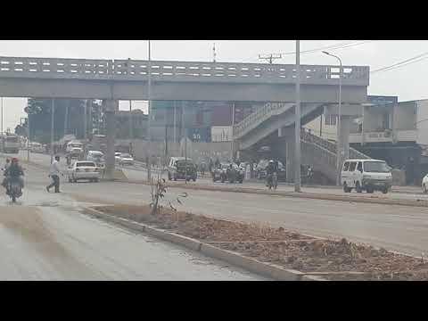 Mombasa Moi international airport towards Magongo flyover via port Reitzs in 6 mins