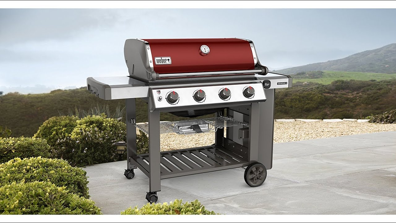 Weber Genesis Ii Gas Grill Review Special Edition 4 Burner