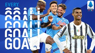 CR7's towering header and Napoli score SIX! | EVERY Goal | Round 2 | Serie A TIM