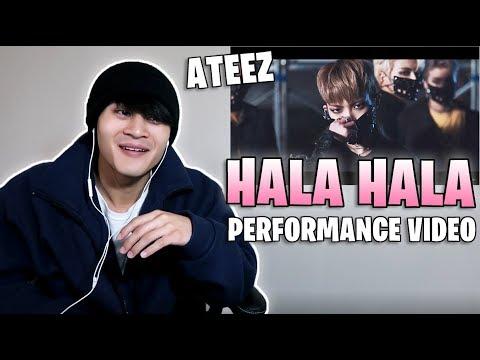 Mikki Reacts to ATEEZ - 'HALA HALA (Hearts Awakened, Live Alive)' MV (Performance ver.)