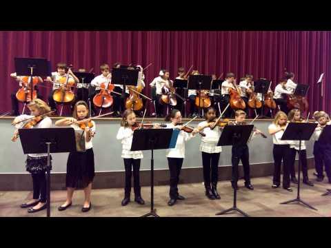 Jingle Bells by Fenton elementary schools Orchestr