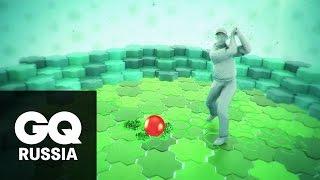 Что внутри мяча для гольфа?