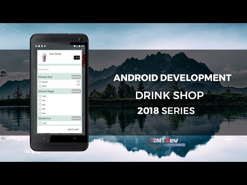 Android Development Tutorial - Drink Shop App part 7 Add To Cart Dialog