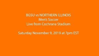 Men's Soccer: BGSU vs Northern Illinois