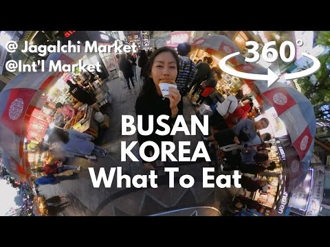 Busan - What to eat @ Jagalchi and International Markets (부산먹방)