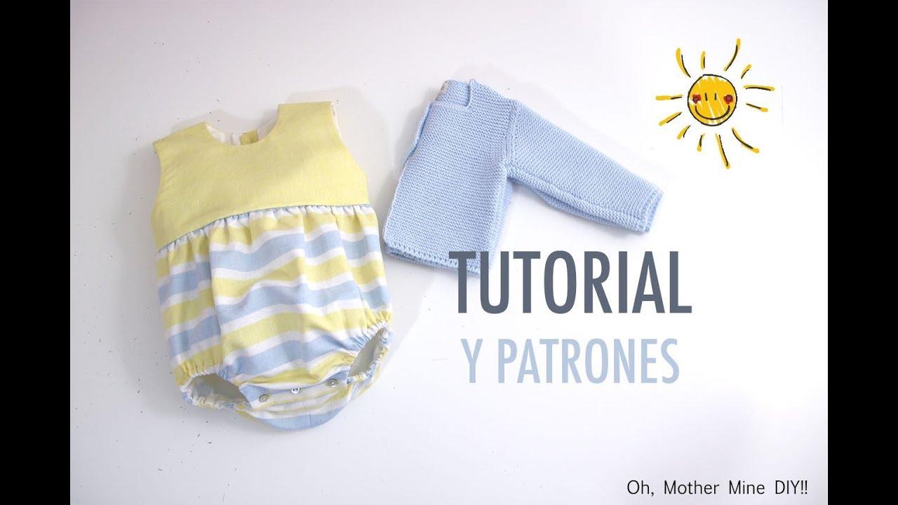 Costura de ranita combinada para bebés (patrones gratis) - YouTube
