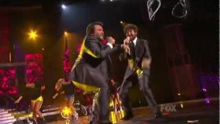 Casey Abrams & Jack Black - Fat Bottomed Girls - American Idol Season 10 Finale - 05/25/11