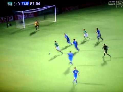 Paddy McCourt vs Faroe Islands 10/08/11