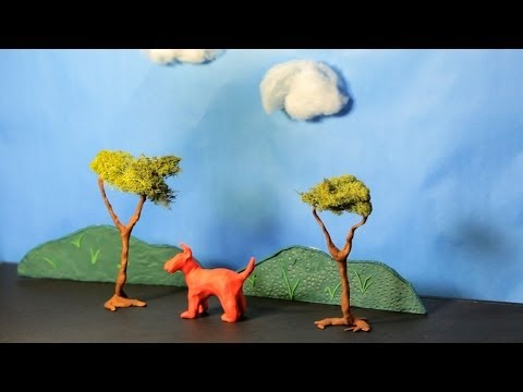 How To Create Clay Scenery | Stop Motion