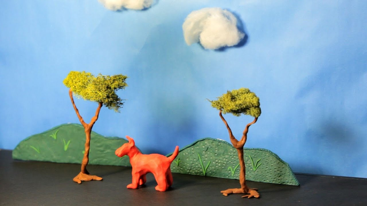 Http 3d Wallpaper How To Create Clay Scenery Stop Motion Youtube