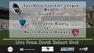 SFLW | Grand Final | Lindisfarne v North Hobart | 08.09.18 | LIVE STREAM