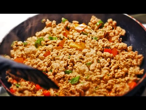 How to make a Healthy Turkey BreakFast Burrito