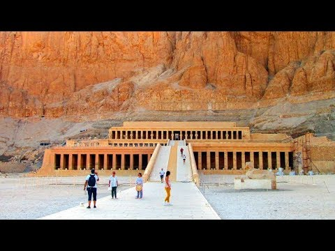 The Mortuary Temple Of Hatshepsut Djeser Djeser Egypt