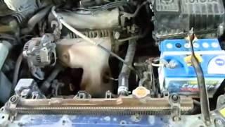 Toyota Ipsum проверка датчика кислорода