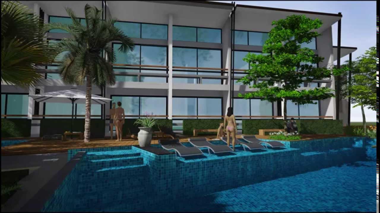 Swimming Pool Movie Lumphawa By Lumion Youtube