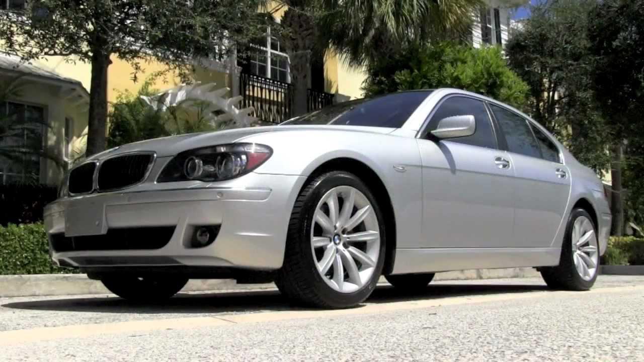 BMW I Titanium Silver Metallic Autos Of Palm Beach A - 2007 bmw 750il